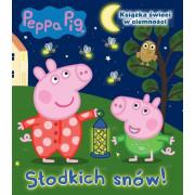 PEPPA PIG-SŁODKICH SNÓW-ŚWIECI W CIEMNOŚCI