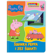 PEPPA PIG-ZADANIA W OKIENKACH-ŚWINKA PEPPA I JEJ ŚWIAT